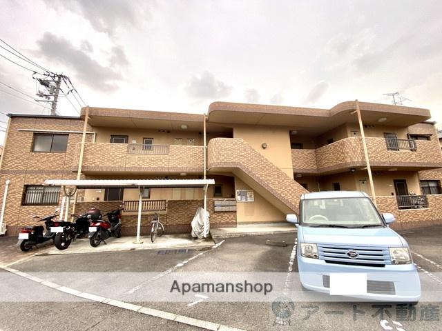 愛媛県松山市、南町駅徒歩30分の築14年 2階建の賃貸マンション