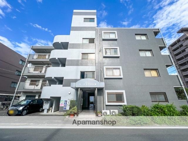 愛媛県松山市、北久米駅徒歩9分の築21年 4階建の賃貸アパート