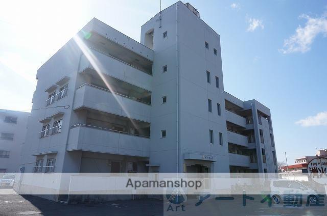 愛媛県東温市、愛大医学部南口駅徒歩14分の築27年 4階建の賃貸マンション