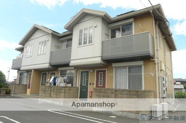 愛媛県東温市、牛渕団地前駅徒歩20分の築11年 2階建の賃貸アパート
