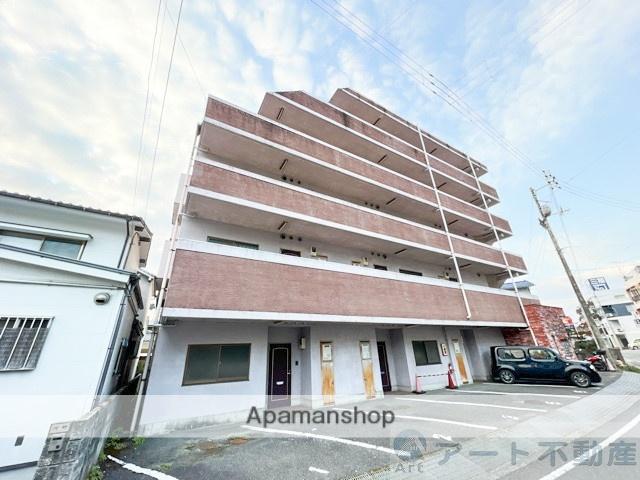 愛媛県松山市、南町駅徒歩27分の築23年 6階建の賃貸マンション