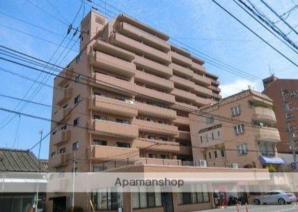 愛媛県松山市、古町駅徒歩3分の築28年 11階建の賃貸マンション