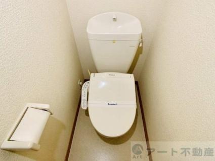 レオパレスグランドカメリアⅦ[1K/31.05m2]のトイレ