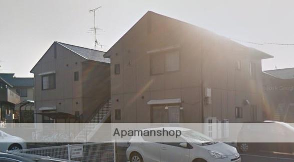 愛媛県東温市、牛渕駅徒歩17分の築22年 2階建の賃貸アパート