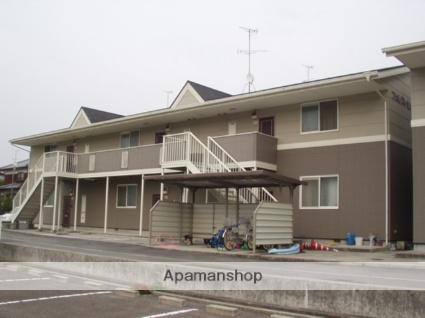 愛媛県伊予郡砥部町の築15年 2階建の賃貸アパート