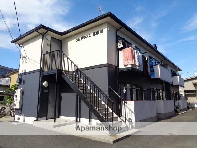 愛媛県西条市の築18年 2階建の賃貸アパート