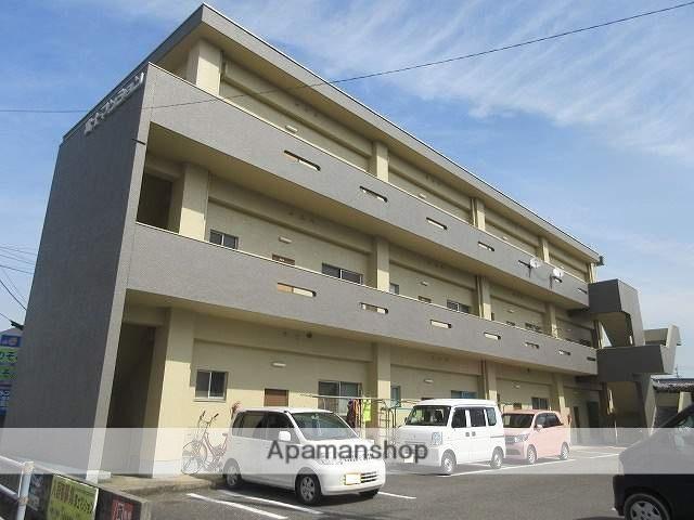 愛媛県西条市、伊予西条駅徒歩30分の築41年 3階建の賃貸マンション