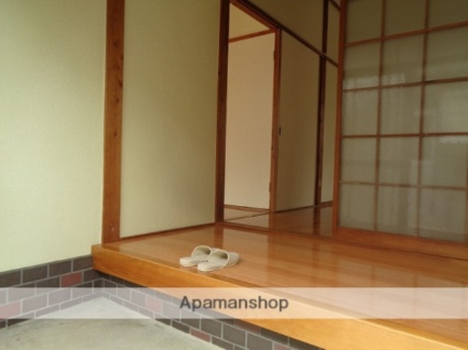 古川甲400-1 貸家[3DK/48.6m2]の玄関