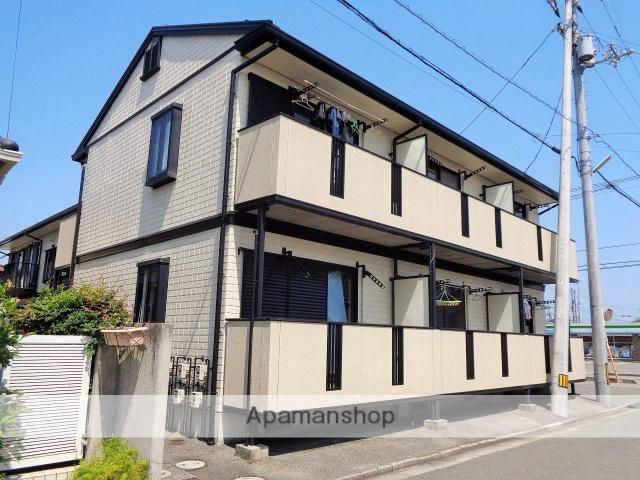 愛媛県西条市、伊予西条駅徒歩30分の築21年 2階建の賃貸アパート