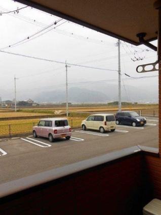 プラシード カーサ Ⅱ[2DK/46.79m2]の眺望2