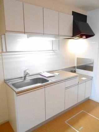 プラシード カーサ Ⅱ[2DK/46.79m2]のキッチン