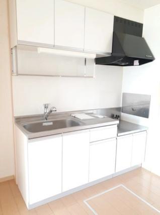 アンジュフランD[2DK/43.86m2]のキッチン