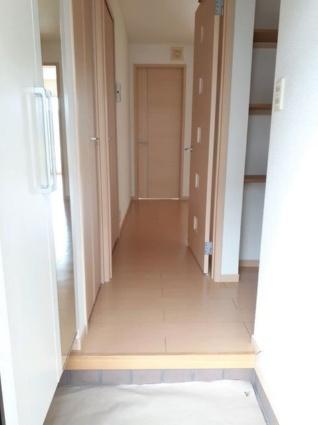 アンジュフランD[2DK/43.86m2]の玄関