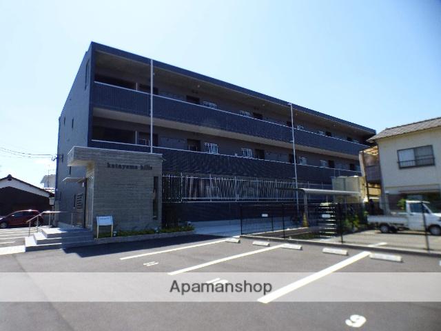 愛媛県今治市、今治駅せとうちバスバス7分水源地下車後徒歩3分の新築 3階建の賃貸マンション