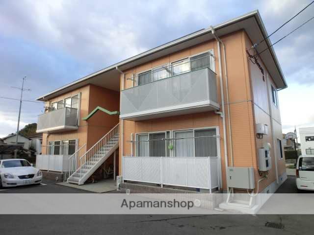 愛媛県今治市、大西駅徒歩15分の築19年 2階建の賃貸アパート