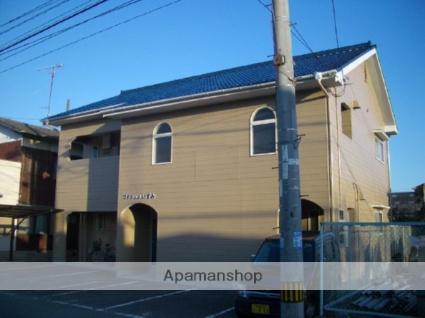 愛媛県今治市、今治駅徒歩20分の築24年 2階建の賃貸アパート
