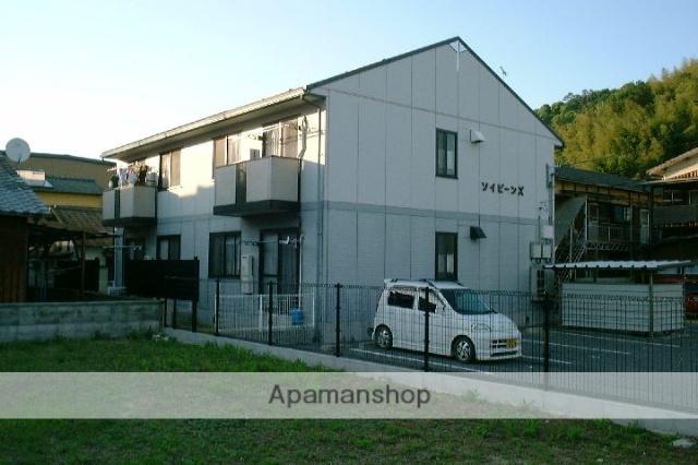 愛媛県今治市、波止浜駅徒歩18分の築19年 2階建の賃貸アパート