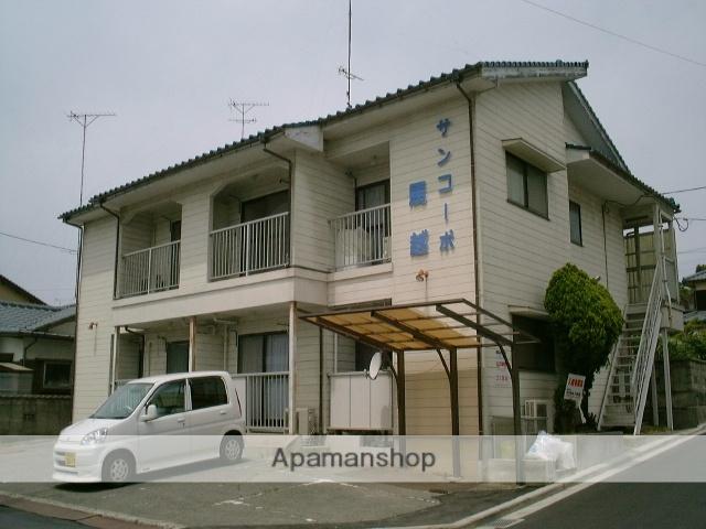 愛媛県今治市、大西駅徒歩41分の築30年 2階建の賃貸アパート