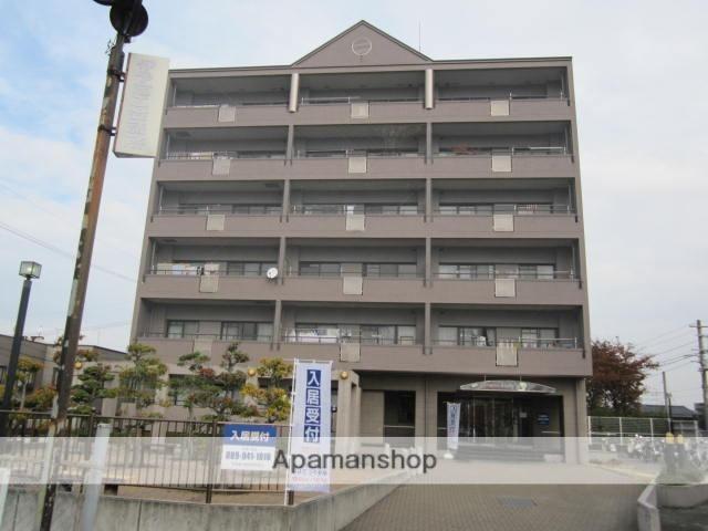 愛媛県伊予市、伊予市駅徒歩10分の築20年 6階建の賃貸マンション