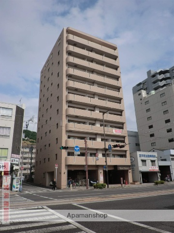 愛媛県松山市、古町駅徒歩6分の築12年 11階建の賃貸マンション