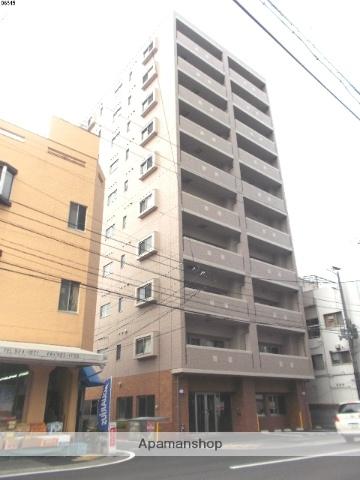 愛媛県松山市、本町5丁目駅徒歩2分の築4年 10階建の賃貸マンション