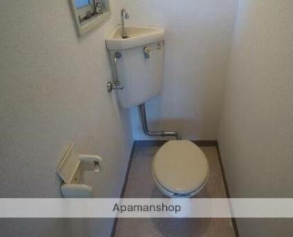 クィーンビル[2DK/36.45m2]のトイレ