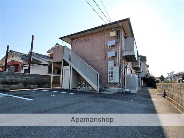 愛媛県松山市、堀江駅徒歩16分の築10年 2階建の賃貸アパート