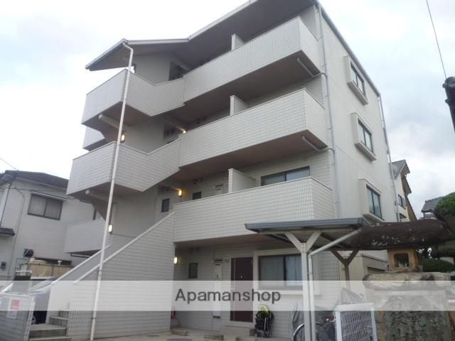 愛媛県松山市、鷹ノ子駅徒歩3分の築19年 4階建の賃貸マンション