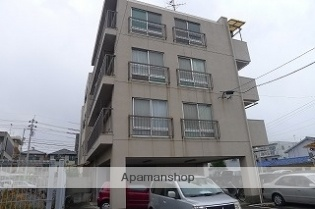 愛媛県松山市、道後公園駅徒歩11分の築43年 4階建の賃貸マンション