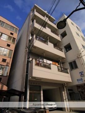 愛媛県松山市、平和通1丁目駅徒歩4分の築27年 5階建の賃貸マンション