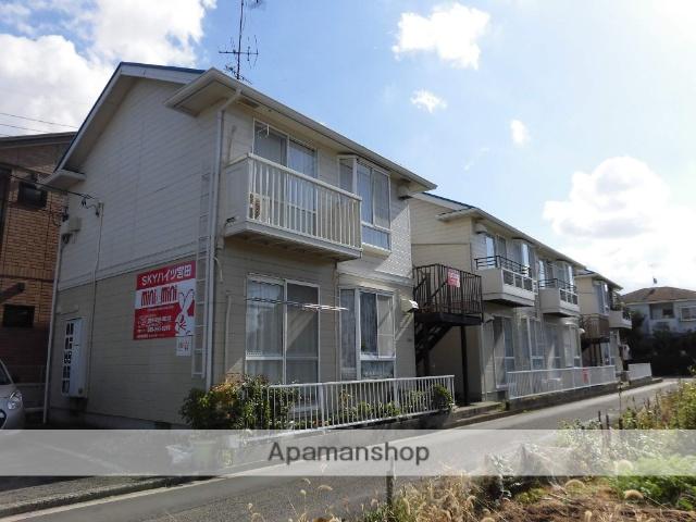 愛媛県松山市、土居田駅徒歩13分の築26年 2階建の賃貸アパート