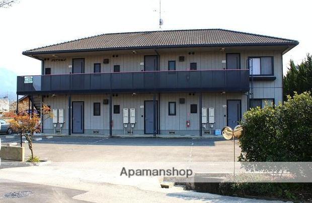 愛媛県東温市、田窪駅徒歩14分の築18年 2階建の賃貸アパート