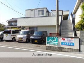 愛媛県東温市、田窪駅徒歩8分の築35年 2階建の賃貸アパート
