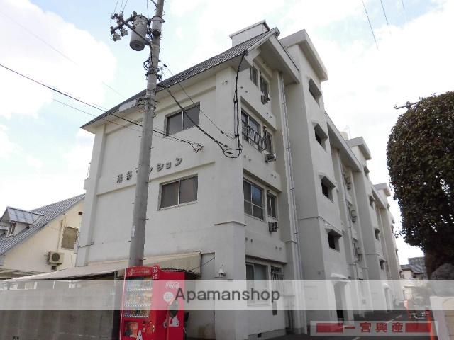 愛媛県松山市、平和通1丁目駅徒歩8分の築27年 4階建の賃貸マンション