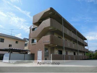 愛媛県東温市、見奈良駅徒歩3分の築14年 3階建の賃貸マンション