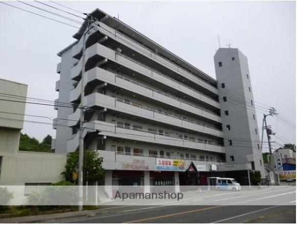 愛媛県松山市、堀江駅徒歩23分の築28年 7階建の賃貸マンション