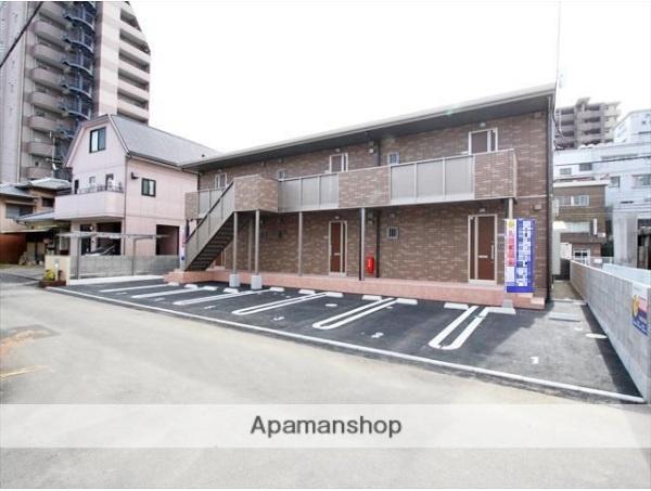 愛媛県松山市、平和通1丁目駅徒歩10分の新築 2階建の賃貸アパート