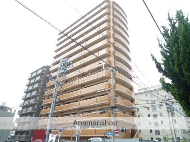 愛媛県松山市、本町3丁目駅徒歩3分の築21年 14階建の賃貸マンション