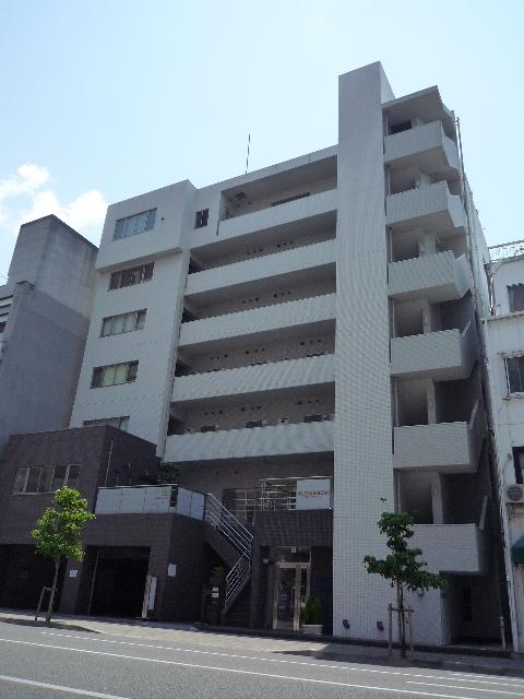愛媛県松山市、松山市駅徒歩4分の築7年 7階建の賃貸マンション