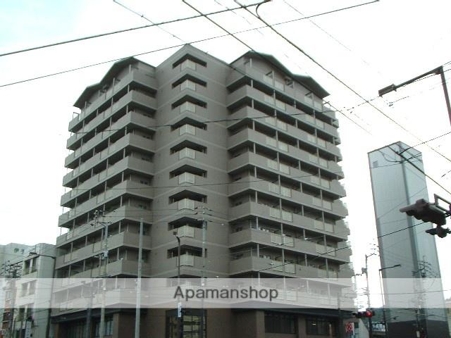 愛媛県松山市、平和通一丁目駅徒歩1分の築19年 12階建の賃貸マンション