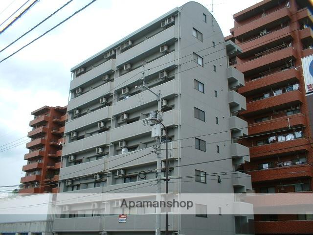 愛媛県松山市、松山駅徒歩6分の築13年 8階建の賃貸マンション