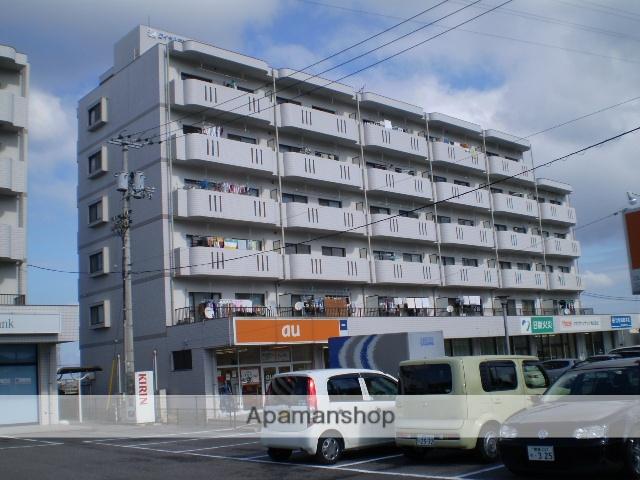 愛媛県四国中央市、伊予三島駅徒歩20分の築20年 6階建の賃貸マンション