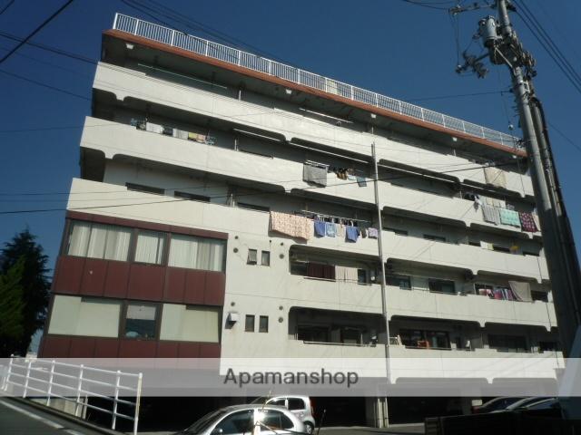 愛媛県松山市、石手川公園駅徒歩20分の築31年 6階建の賃貸マンション