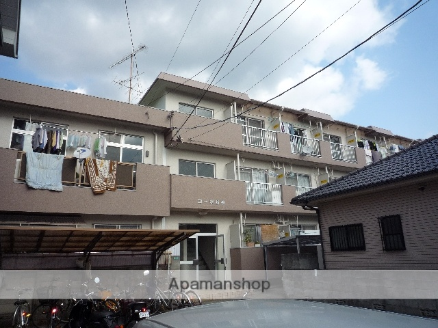 愛媛県松山市、南町駅徒歩2分の築32年 3階建の賃貸アパート