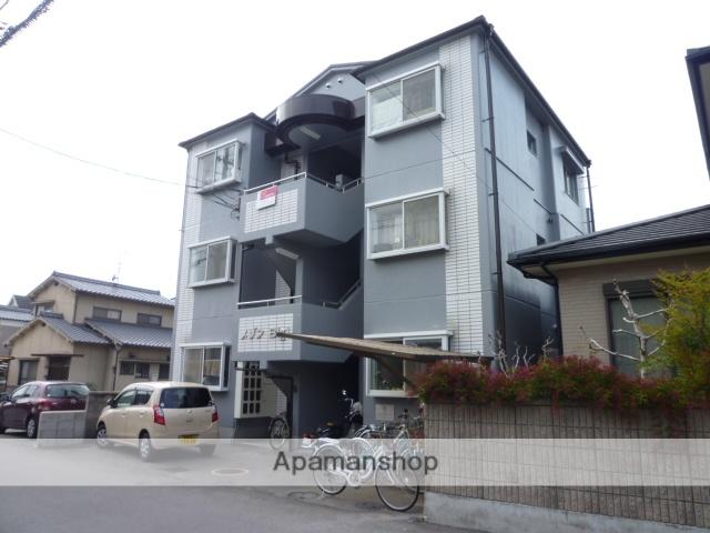 愛媛県松山市、土橋駅徒歩18分の築27年 3階建の賃貸マンション