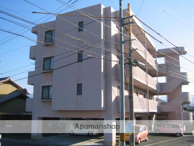 愛媛県松山市、平井駅徒歩4分の築22年 4階建の賃貸マンション