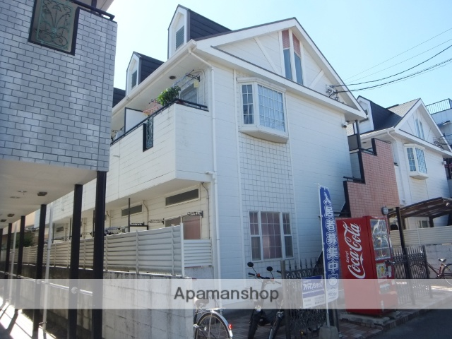 愛媛県松山市、南町駅徒歩20分の築27年 2階建の賃貸アパート
