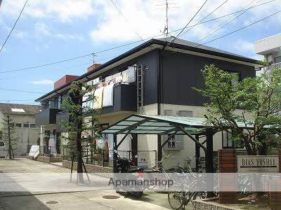 愛媛県松山市、衣山駅徒歩13分の築21年 2階建の賃貸アパート