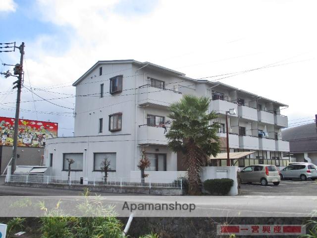 愛媛県松山市、久米駅徒歩5分の築22年 3階建の賃貸マンション