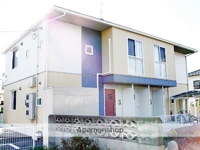 愛媛県松山市、梅本駅徒歩2分の築11年 2階建の賃貸アパート